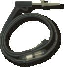 烟气探针150mm 或 250mm附带双管 & 双烟气管 (抽力测量)