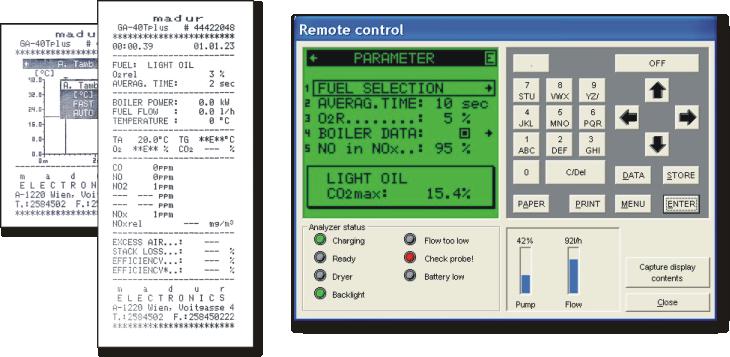 样例输出及PC程序截图